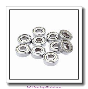 2mm x 5mm x 1.5mm  ZEN f682-zen Ball Bearings Miniatures