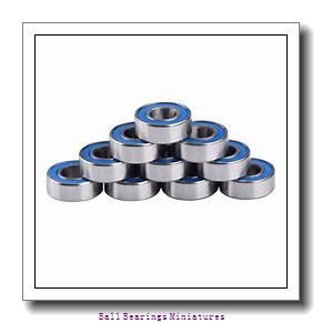 2.5mm x 7mm x 3.5mm  ZEN sf692x-2z-zen Ball Bearings Miniatures