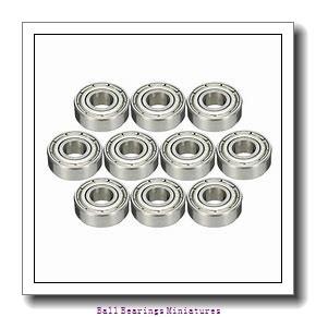 3mm x 8mm x 2.5mm  ZEN mf83-zen Ball Bearings Miniatures