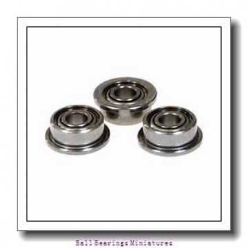 3mm x 9mm x 5mm  ZEN sf603-2z-zen Ball Bearings Miniatures