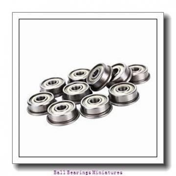 2mm x 6mm x 3mm  ZEN f692-2z-zen Ball Bearings Miniatures