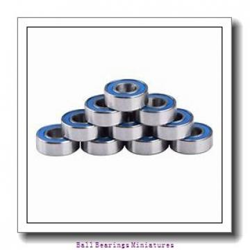 3mm x 6mm x 2.5mm  ZEN smr63-2z-zen Ball Bearings Miniatures