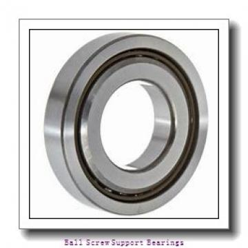 45mm x 100mm x 20mm  Nachi 45tab10u/gmp4-nachi Ball Screw Support Bearings