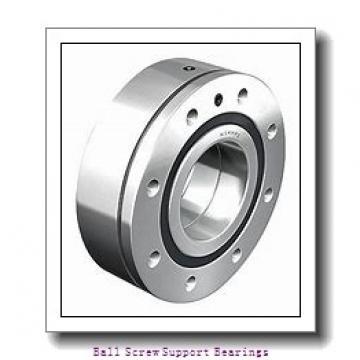 50mm x 100mm x 20mm  NSK 50tac100bdfc10pn7a-nsk Ball Screw Support Bearings