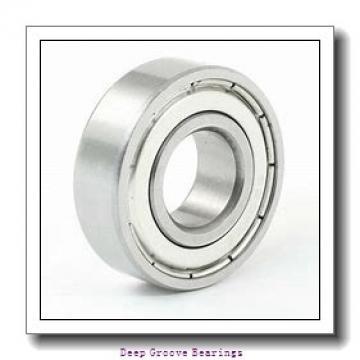 12mm x 28mm x 12mm  FAG 63001-2rsr-fag Deep Groove Bearings