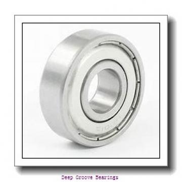 55mm x 90mm x 11mm  FAG 16011-fag Deep Groove Bearings