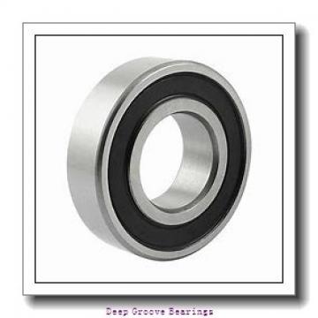 45mm x 100mm x 36mm  FAG 62309-2rsr-fag Deep Groove Bearings
