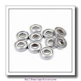 3mm x 10mm x 4mm  ZEN s623-zen Ball Bearings Miniatures