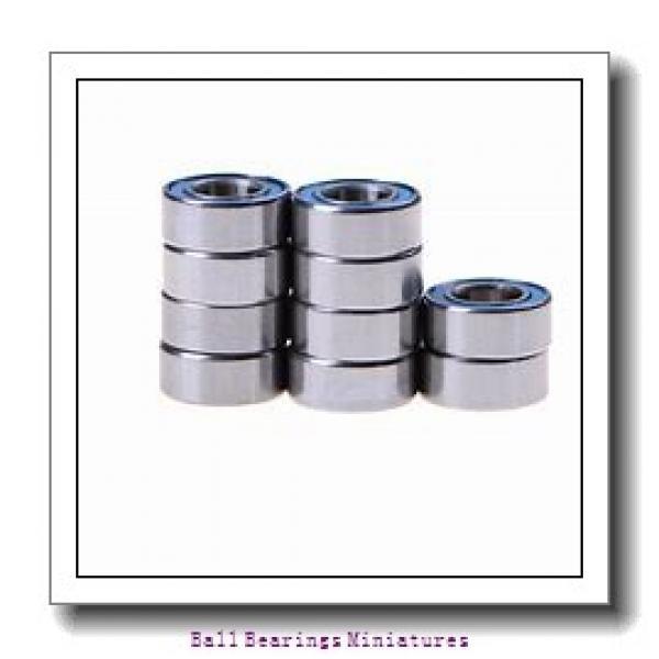 3mm x 10mm x 4mm  ZEN s623-2z-zen Ball Bearings Miniatures #2 image