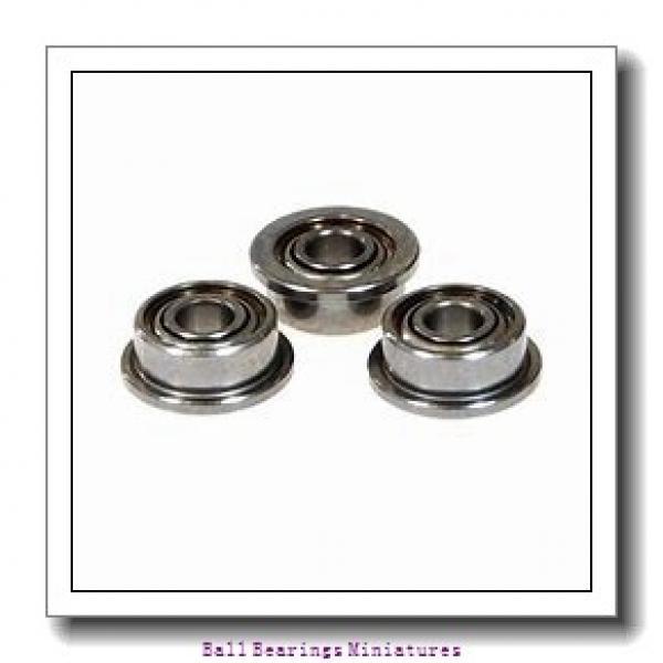 3mm x 9mm x 2.5mm  ZEN smr93-zen Ball Bearings Miniatures #2 image