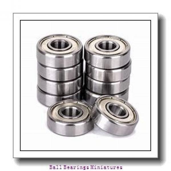 3mm x 10mm x 4mm  FAG 623-2z-fag Ball Bearings Miniatures #2 image
