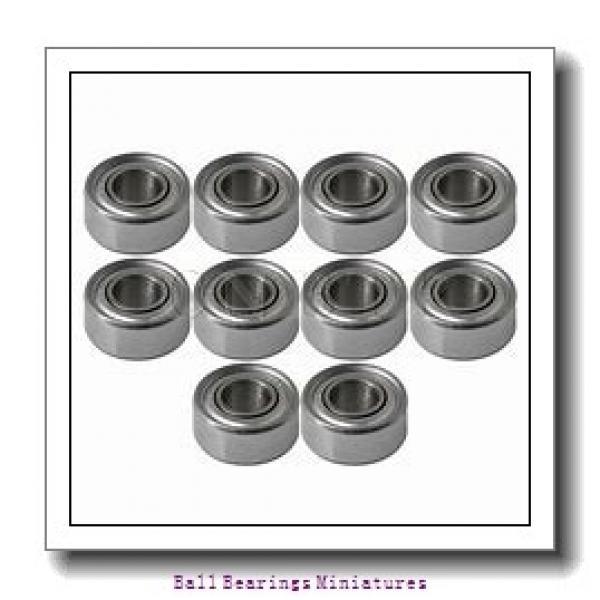 2mm x 5mm x 1.5mm  ZEN sf682-zen Ball Bearings Miniatures #2 image
