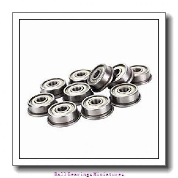 3mm x 10mm x 4mm  ZEN sf623-2rs-zen Ball Bearings Miniatures #1 image