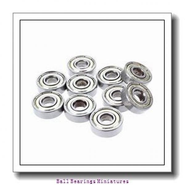 3mm x 10mm x 4mm  ZEN s623-zen Ball Bearings Miniatures #1 image