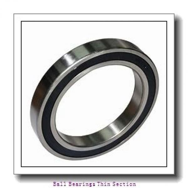 25mm x 37mm x 7mm  Timken 618052rs-timken Ball Bearings Thin Section #2 image