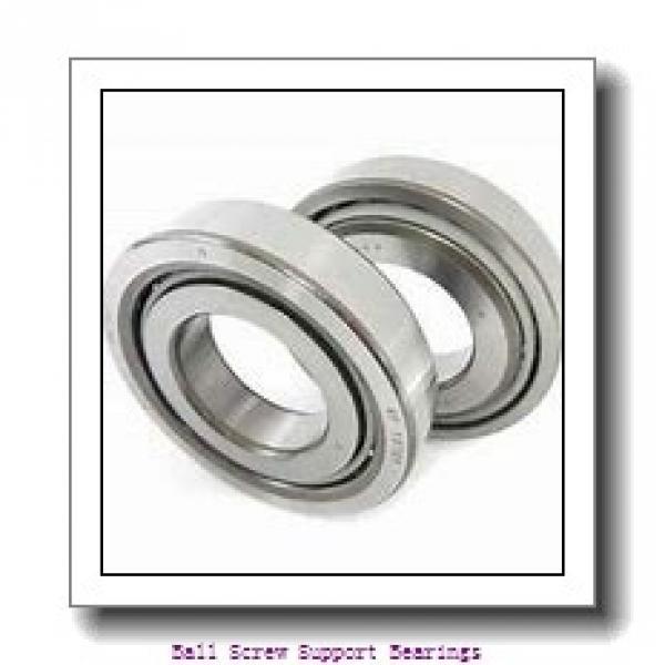 40mm x 72mm x 15mm  Nachi 40tab07u/gmp4-nachi Ball Screw Support Bearings #1 image