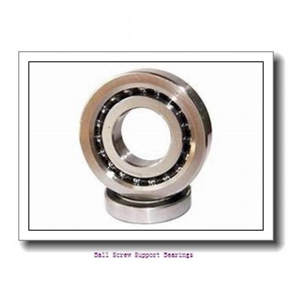 76.2mm x 110mm x 15.875mm  RHP bsb300duhp3-rhp Ball Screw Support Bearings #1 image