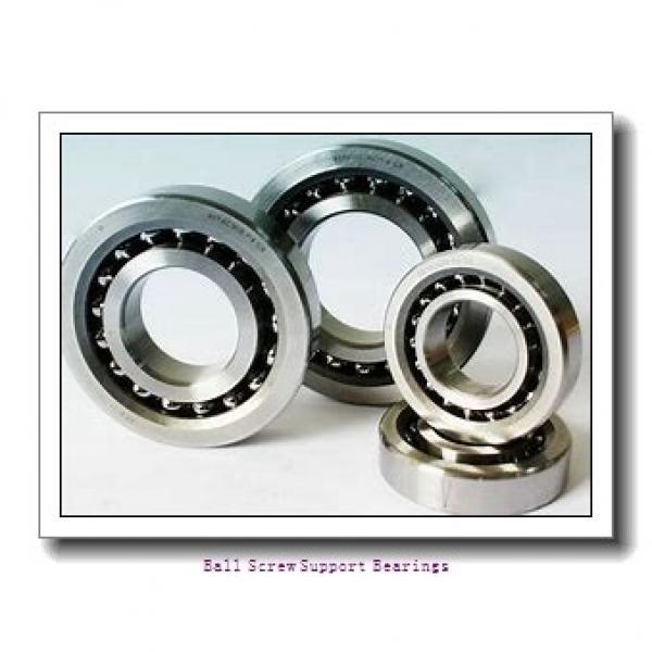 17mm x 47mm x 15mm  NSK 17tac47bsuc10pn7b-nsk Ball Screw Support Bearings #1 image