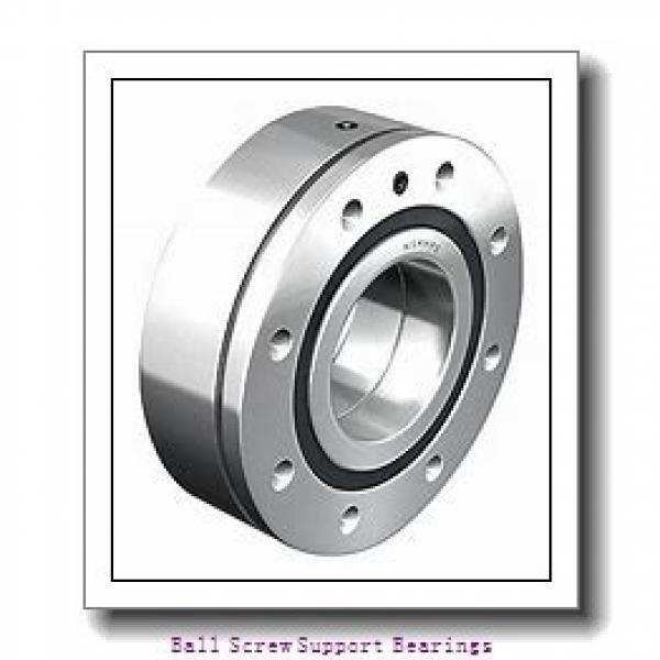 40mm x 72mm x 15mm  Nachi 40tab07u/gmp4-nachi Ball Screw Support Bearings #2 image