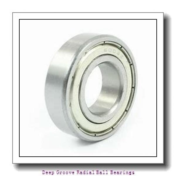 40mm x 80mm x 23mm  SKF 62208-2rs1-skf Deep Groove Radial Ball Bearings #1 image